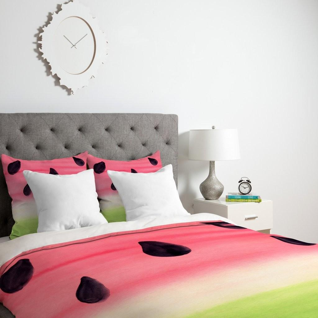 Painted Watermelon Duvet Cover Wonder Forest