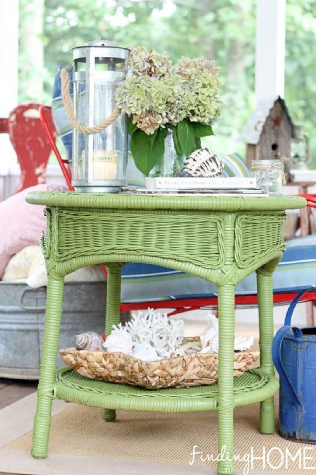 Painted Wicker Furniture Ideas Adorn Your Home