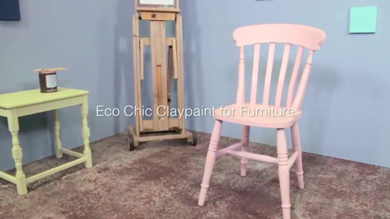 Painting Chair Earthborn Eco Chic Claypaint