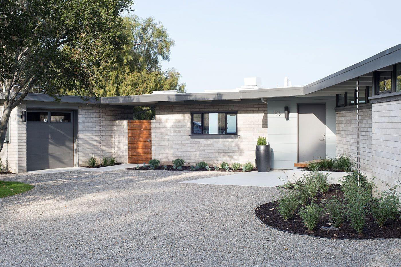 Painting Mid Century Modern Home Exterior Paint