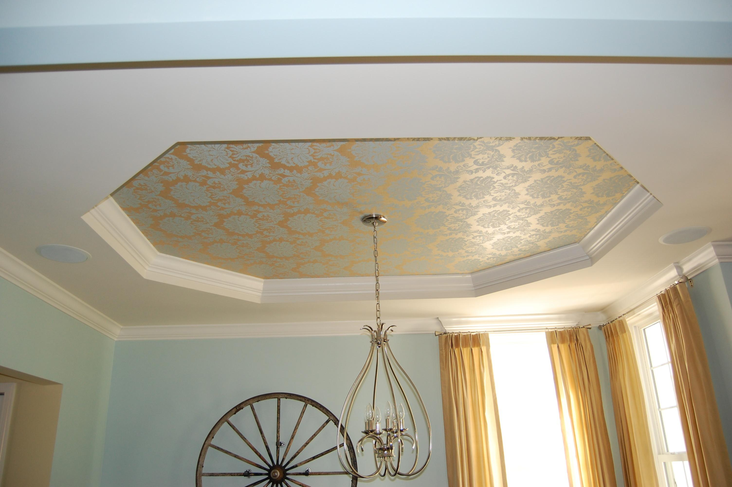 Painting Tray Ceiling Decorator Journey