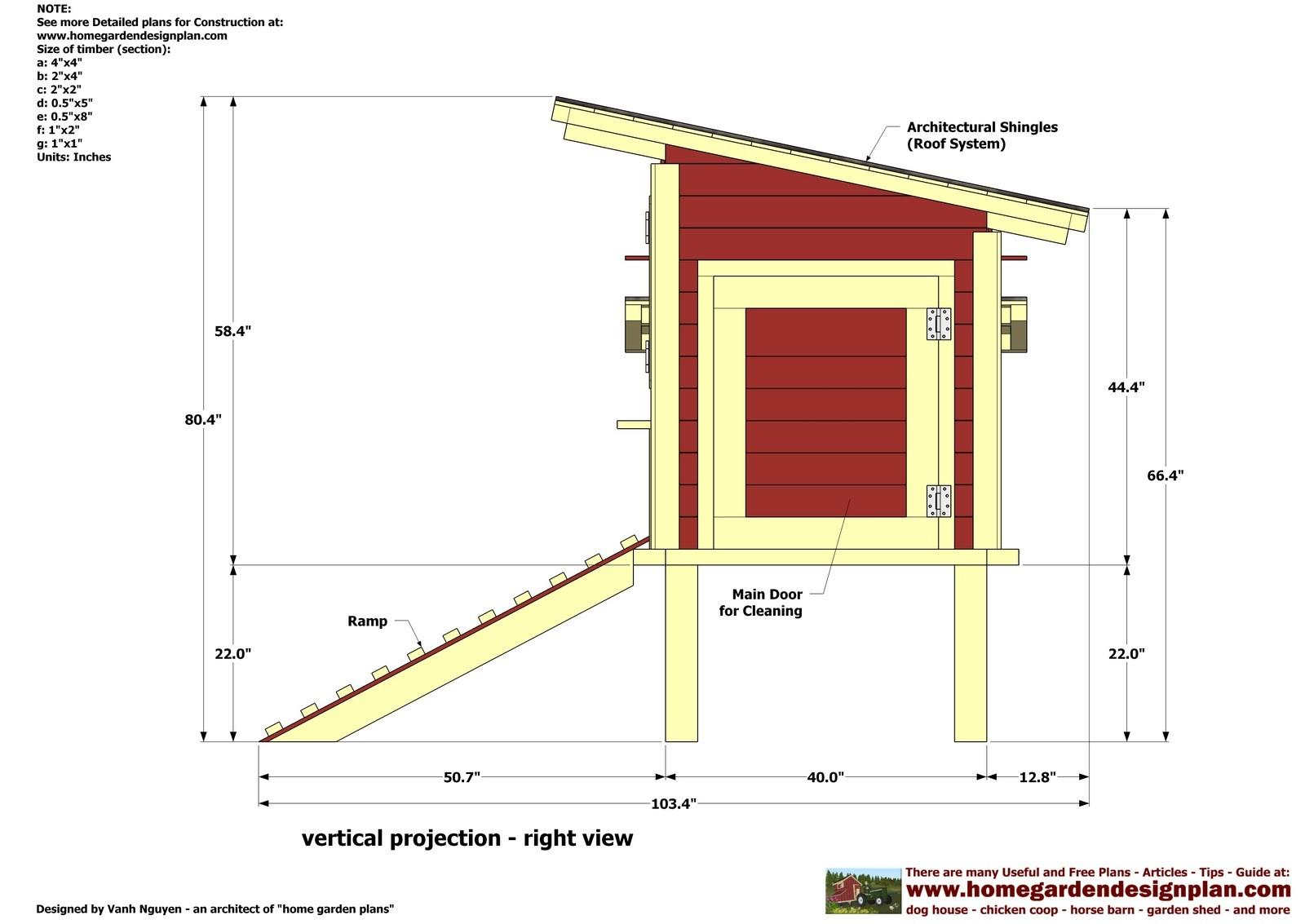 Pallet Chicken Coop Plans Hen Ternak