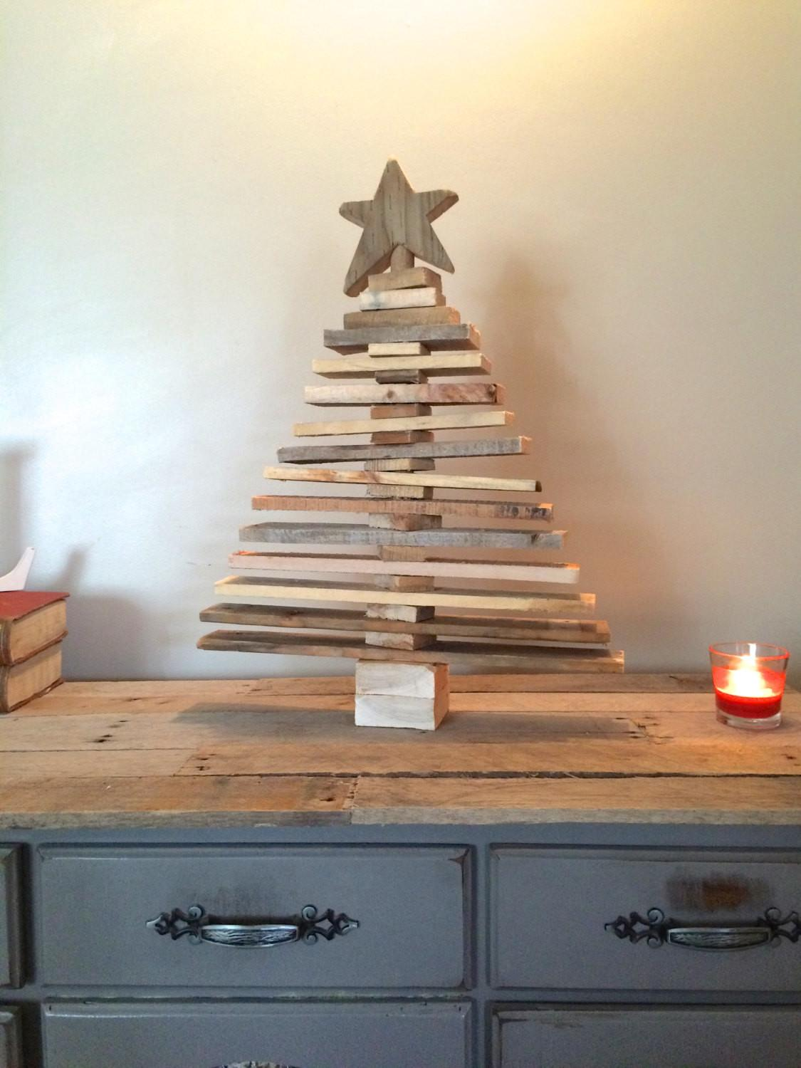 Pallet Christmas Tree Spaced Out Holiday Decor Art