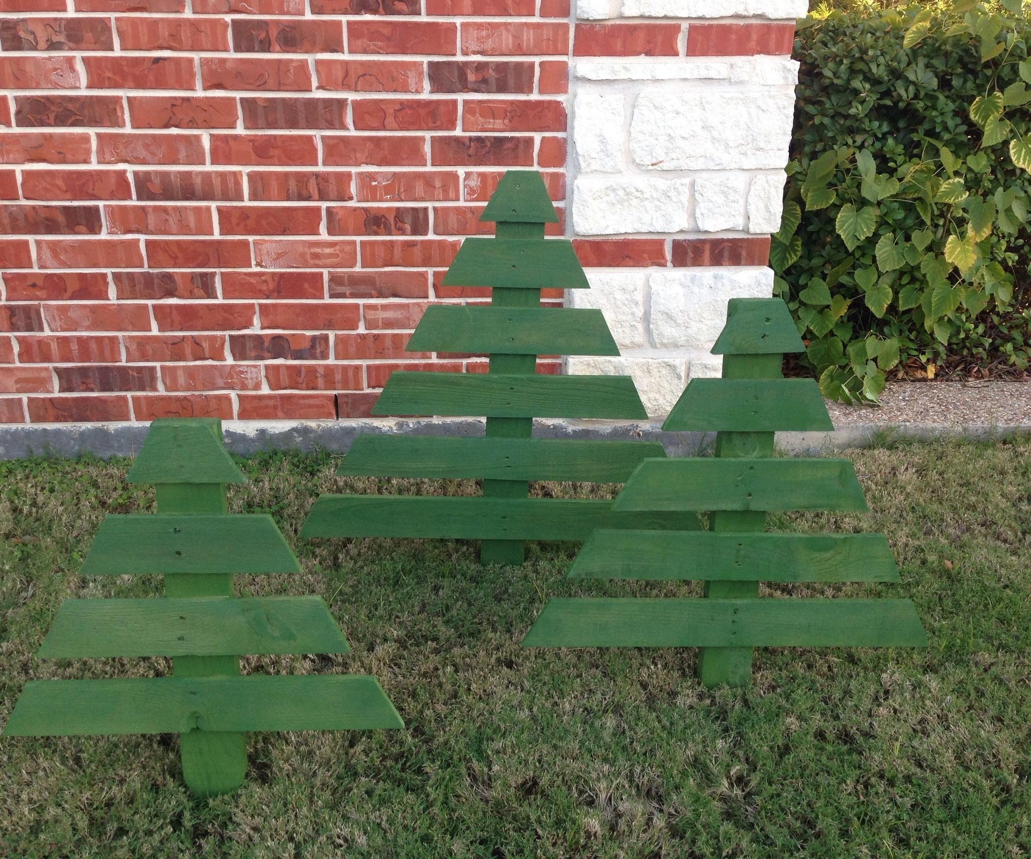 Pallet Christmas Trees