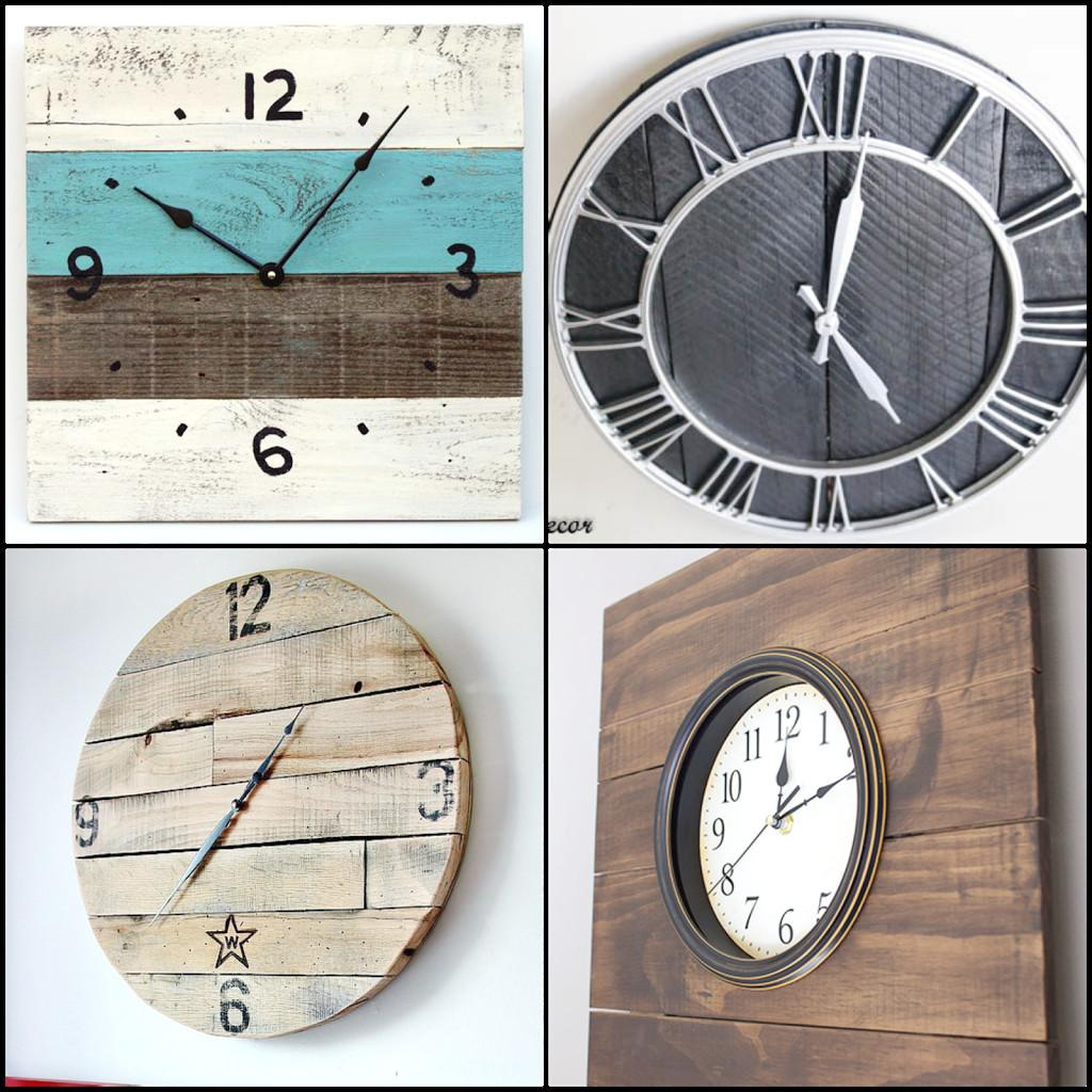 Pallet Clock Tutorials