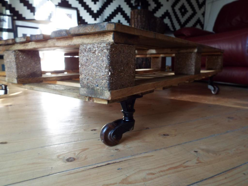 Pallet Coffee Table Industrial