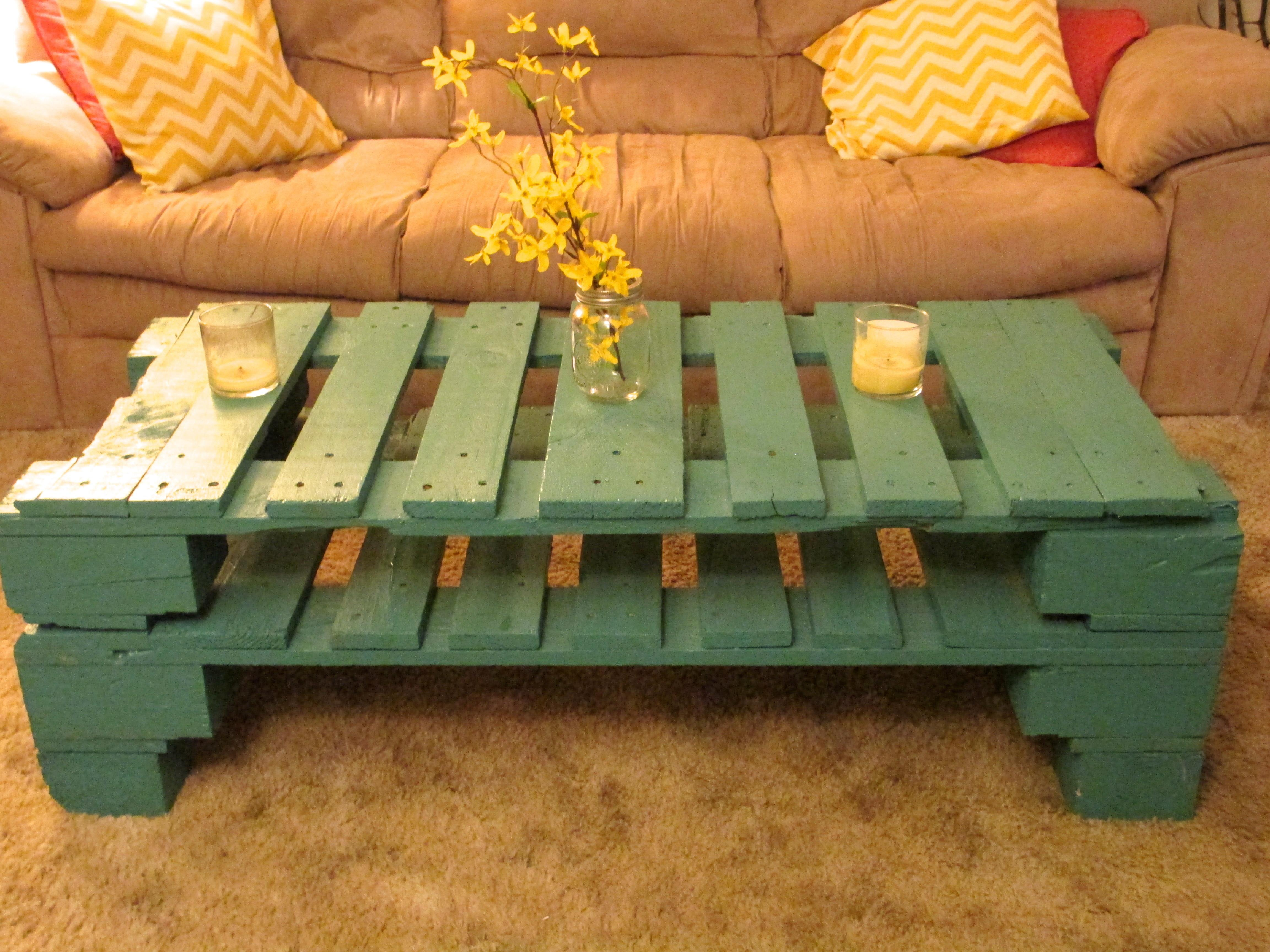 Pallet Coffee Table Warmth Leigha
