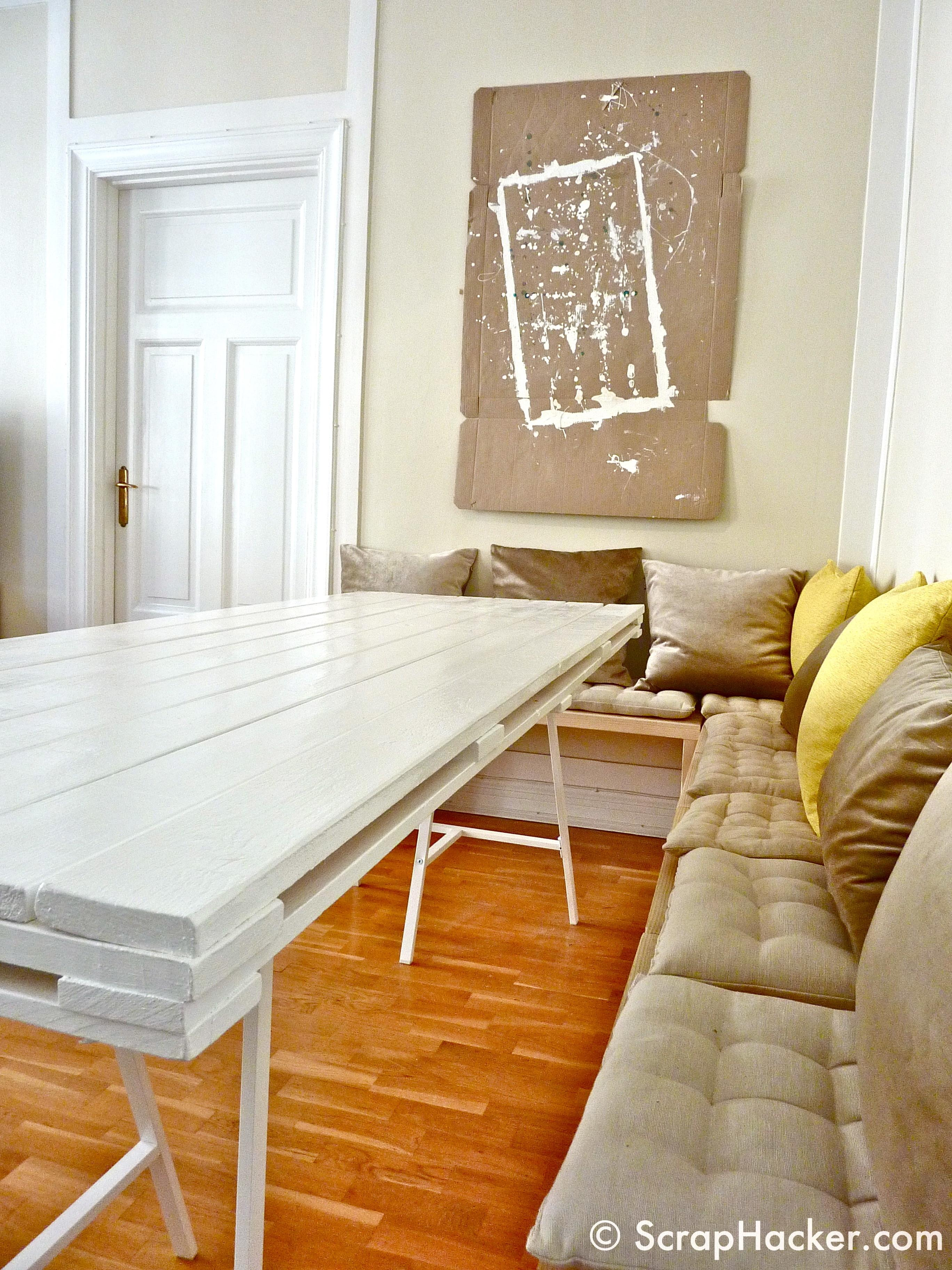 Pallet Dining Table Step Tutorial