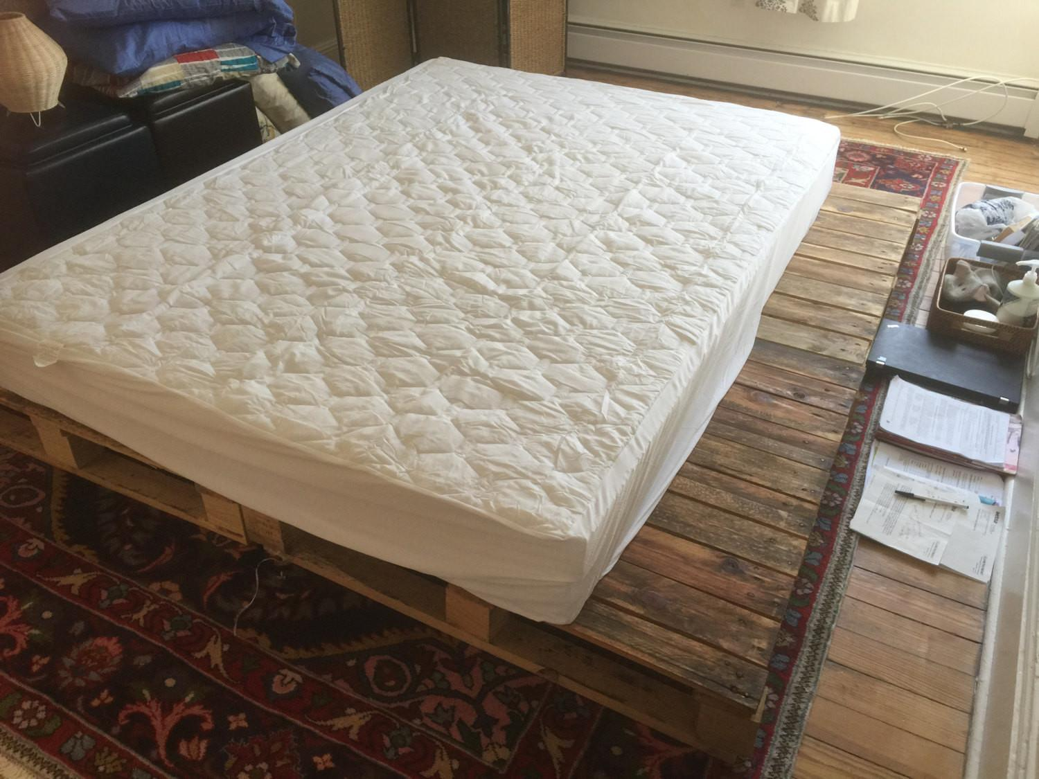 Pallet Platform Bed Available Queen King Twin