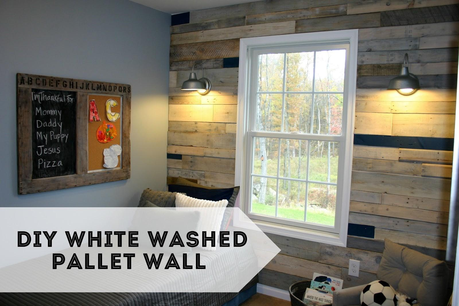 Pallet Possibilities Build Wooden Wall
