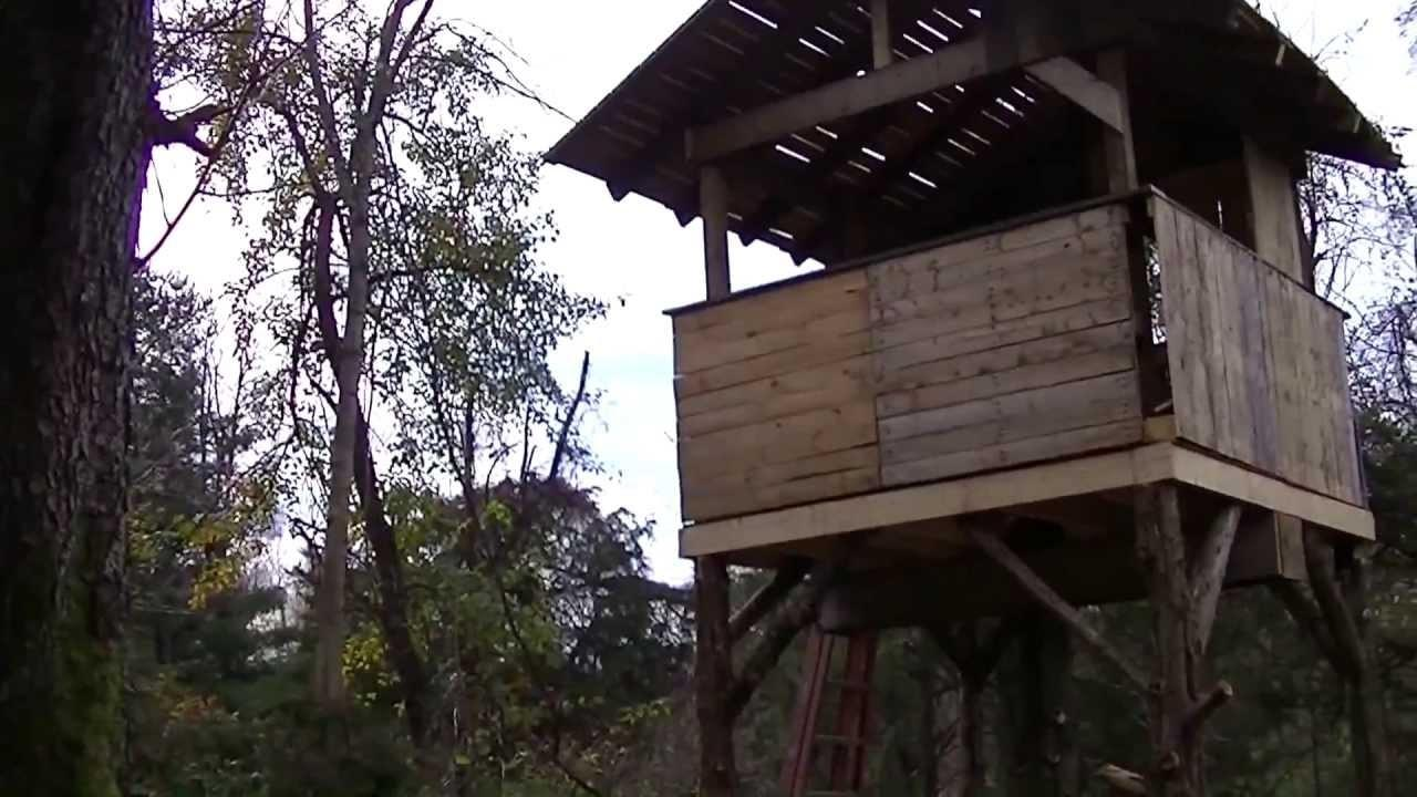 Pallet Tree House Made Pallets Building