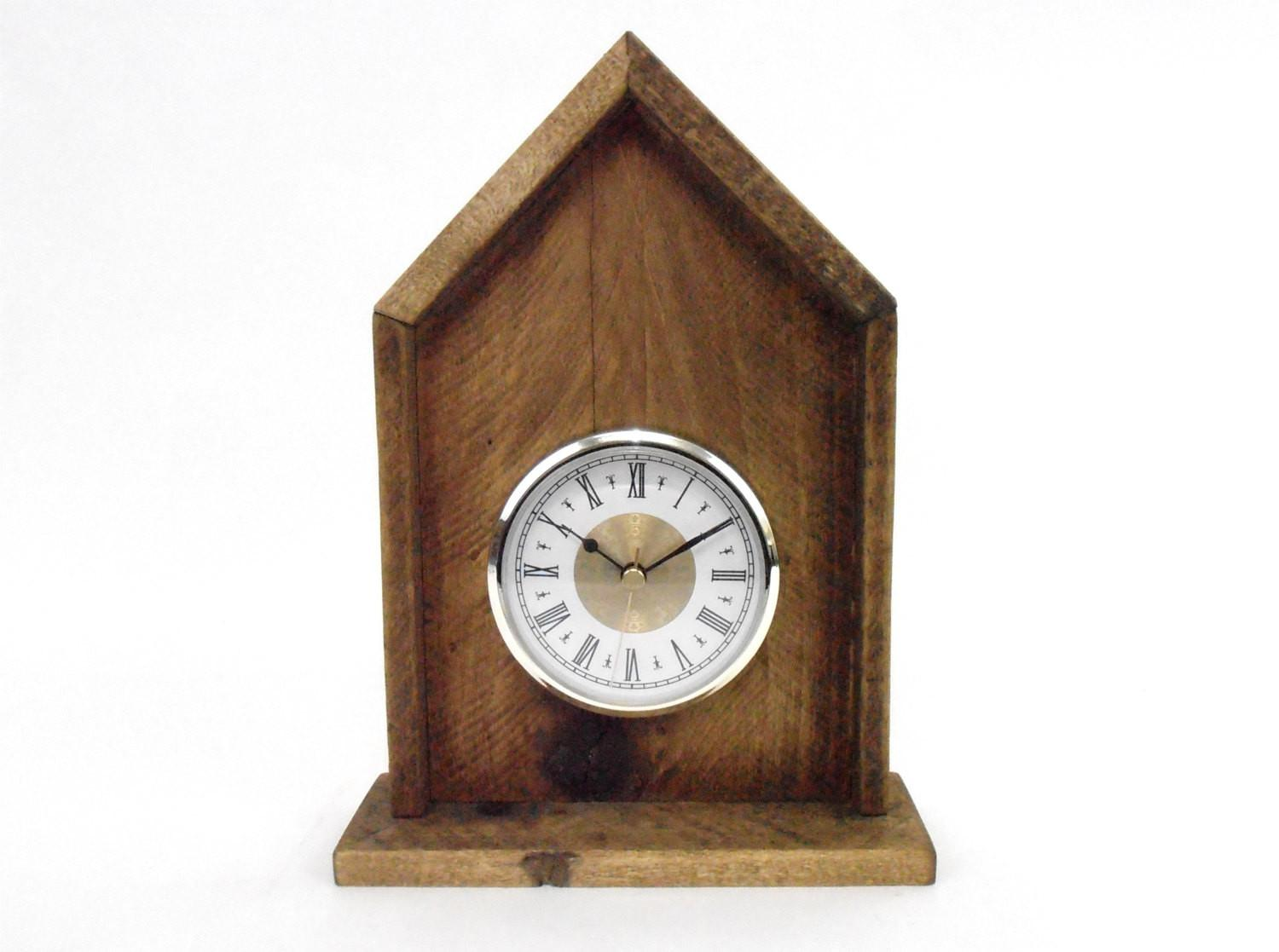 Pallet Wood Clock Rustic