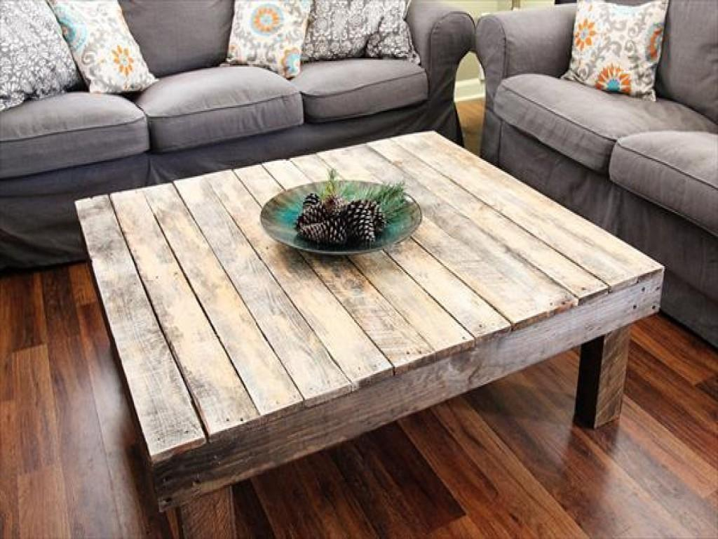 Pallet Wood Coffee Table Luxury Diy