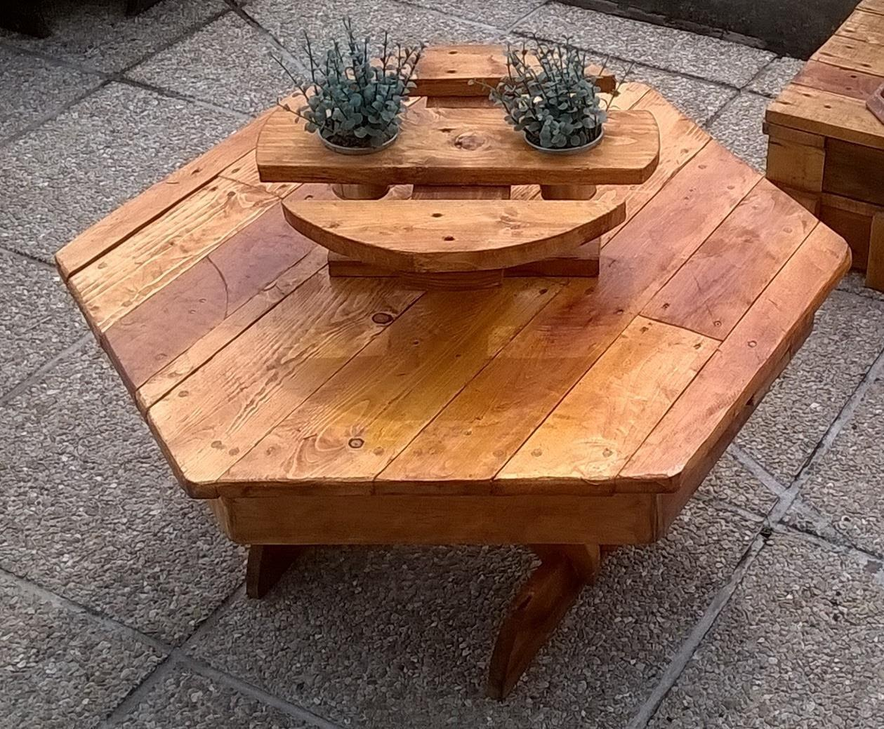 Pallets Made Planter Tables Pallet Ideas Recycled