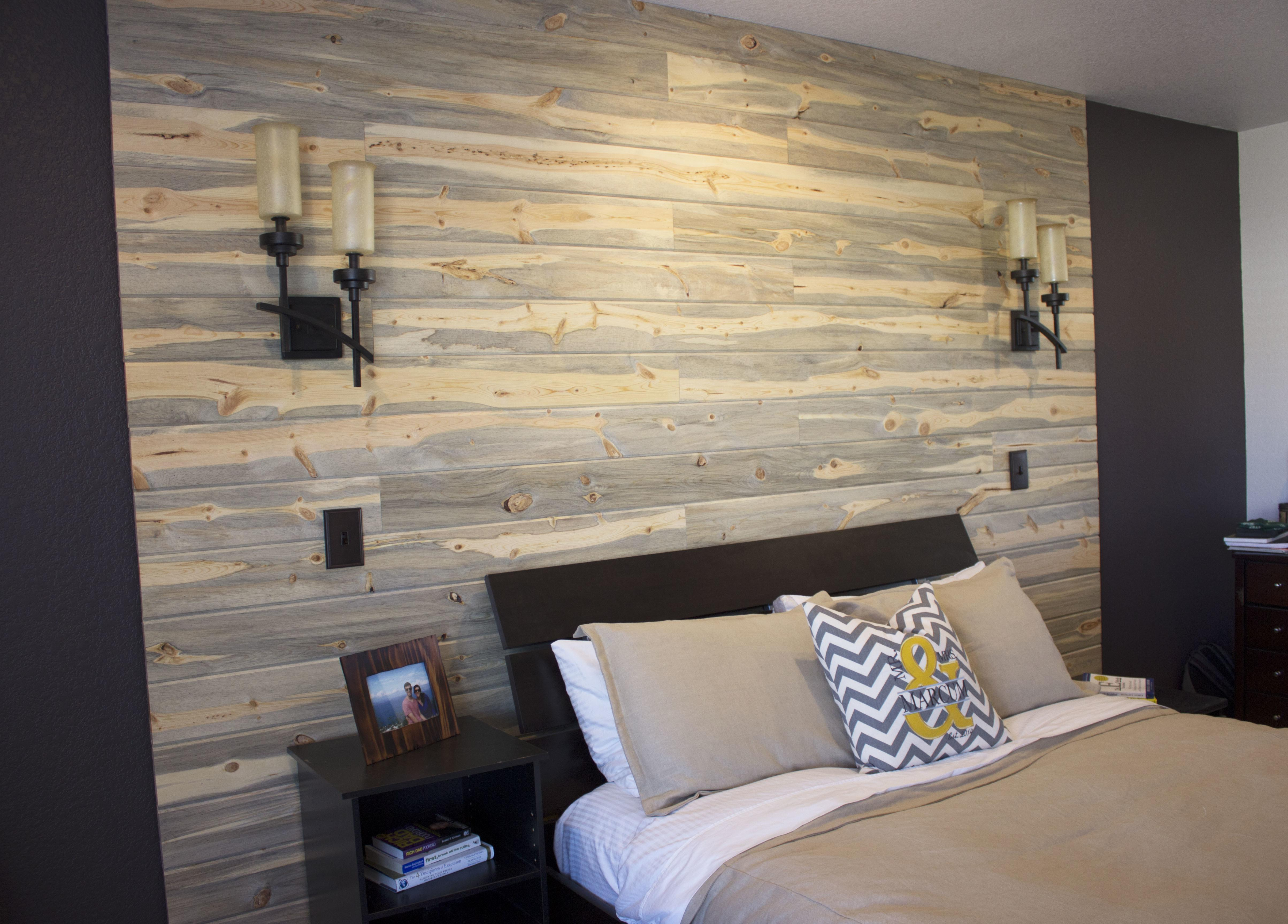 Pallets Planks Build Wall Day