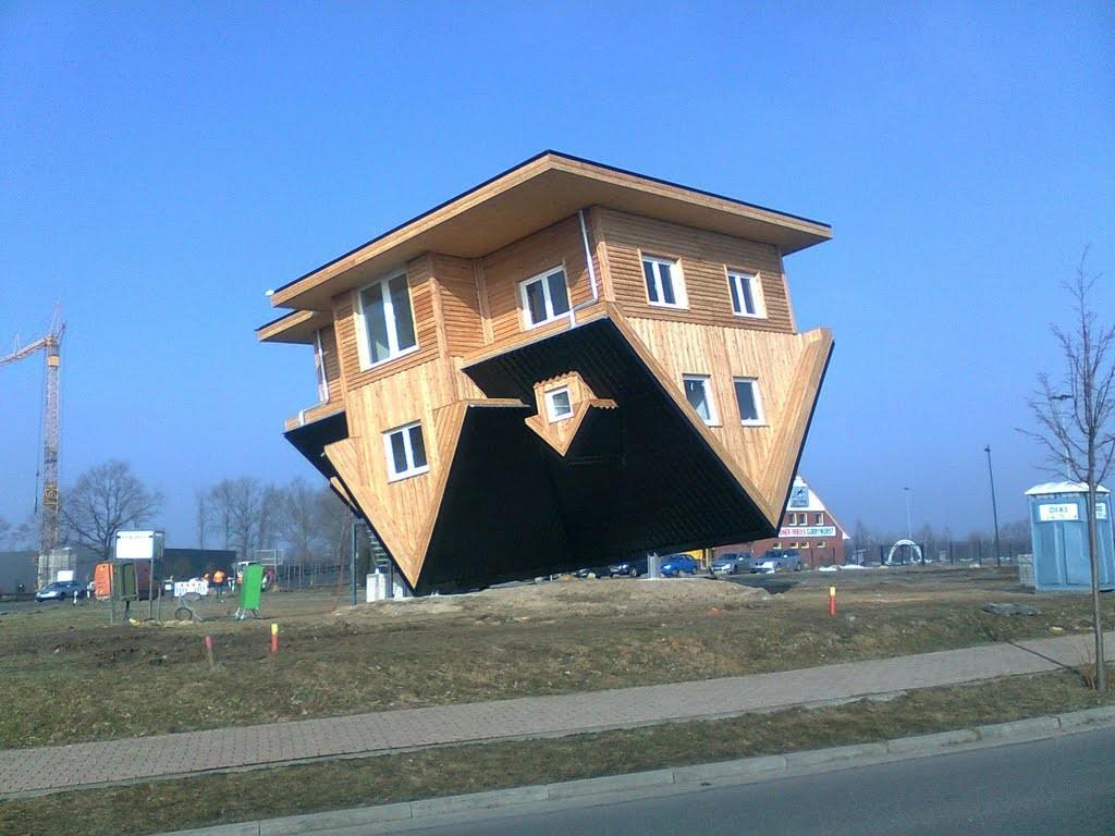 Panoramio Upside Down House Near Bispingen Exit