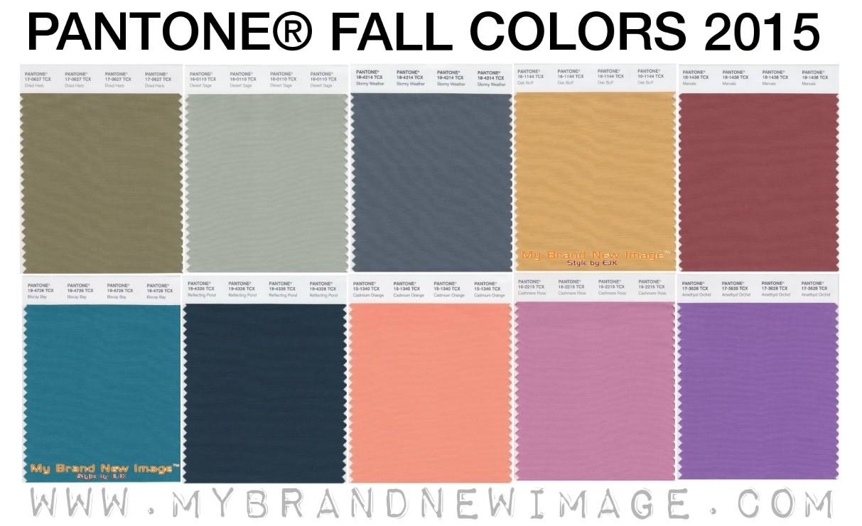 Pantone Announce Colour Report Fall 2015 Hanami