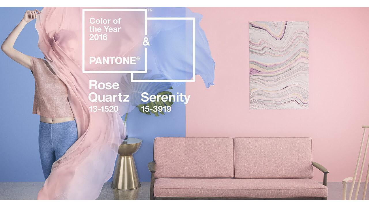 Pantone Color Year 2016 Rose Quartz Serenity