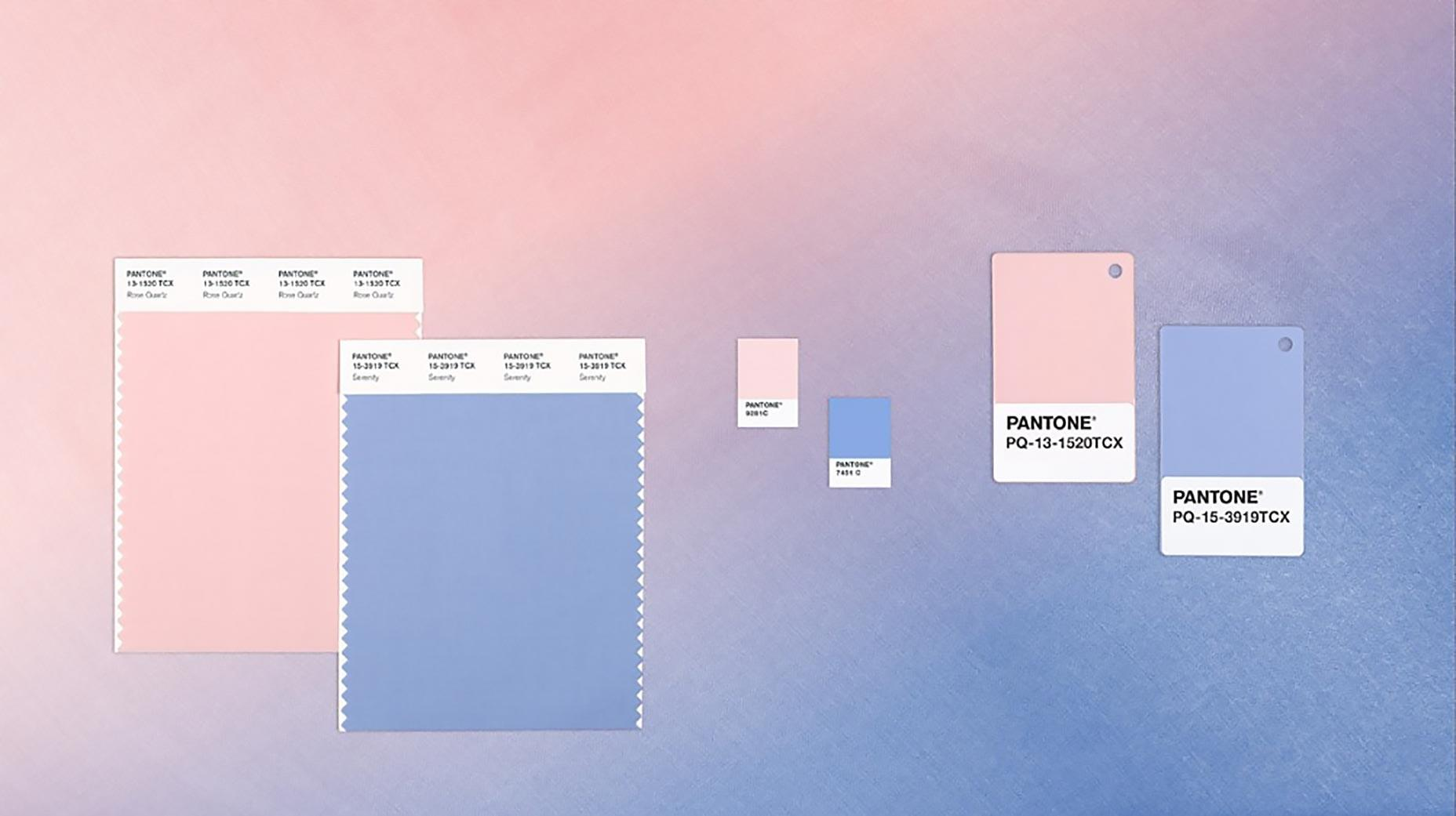 Pantone Color Year 2016 Serenity Rose Quartz