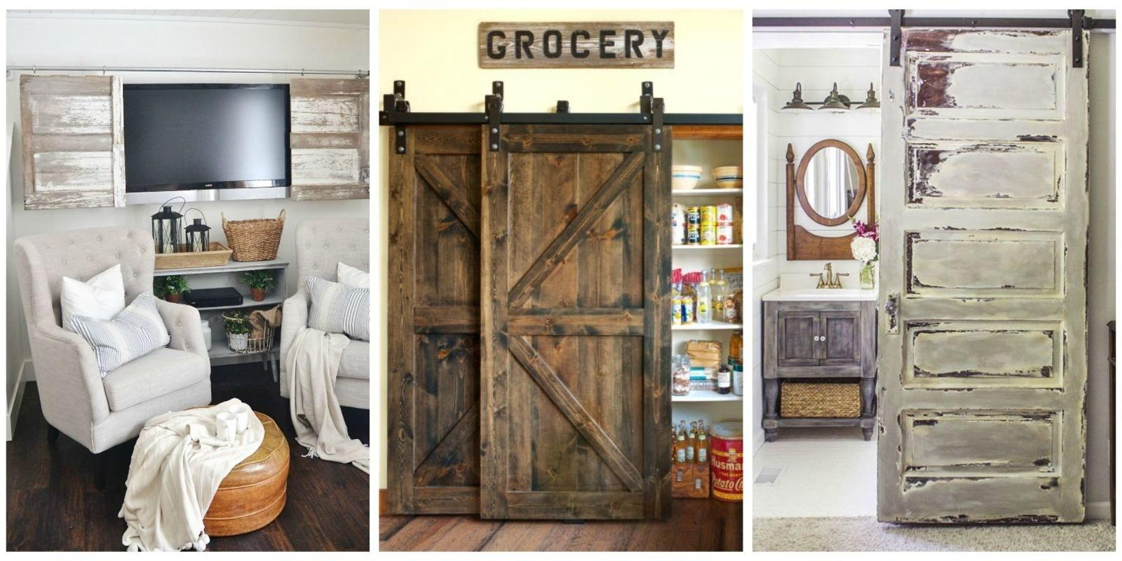 Pantry Barn Door Ideas Doors