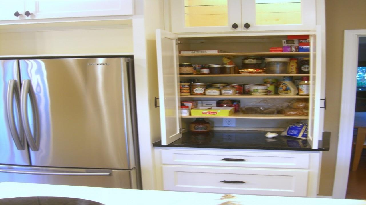 Pantry Design Ideas Small Kitchen Cool