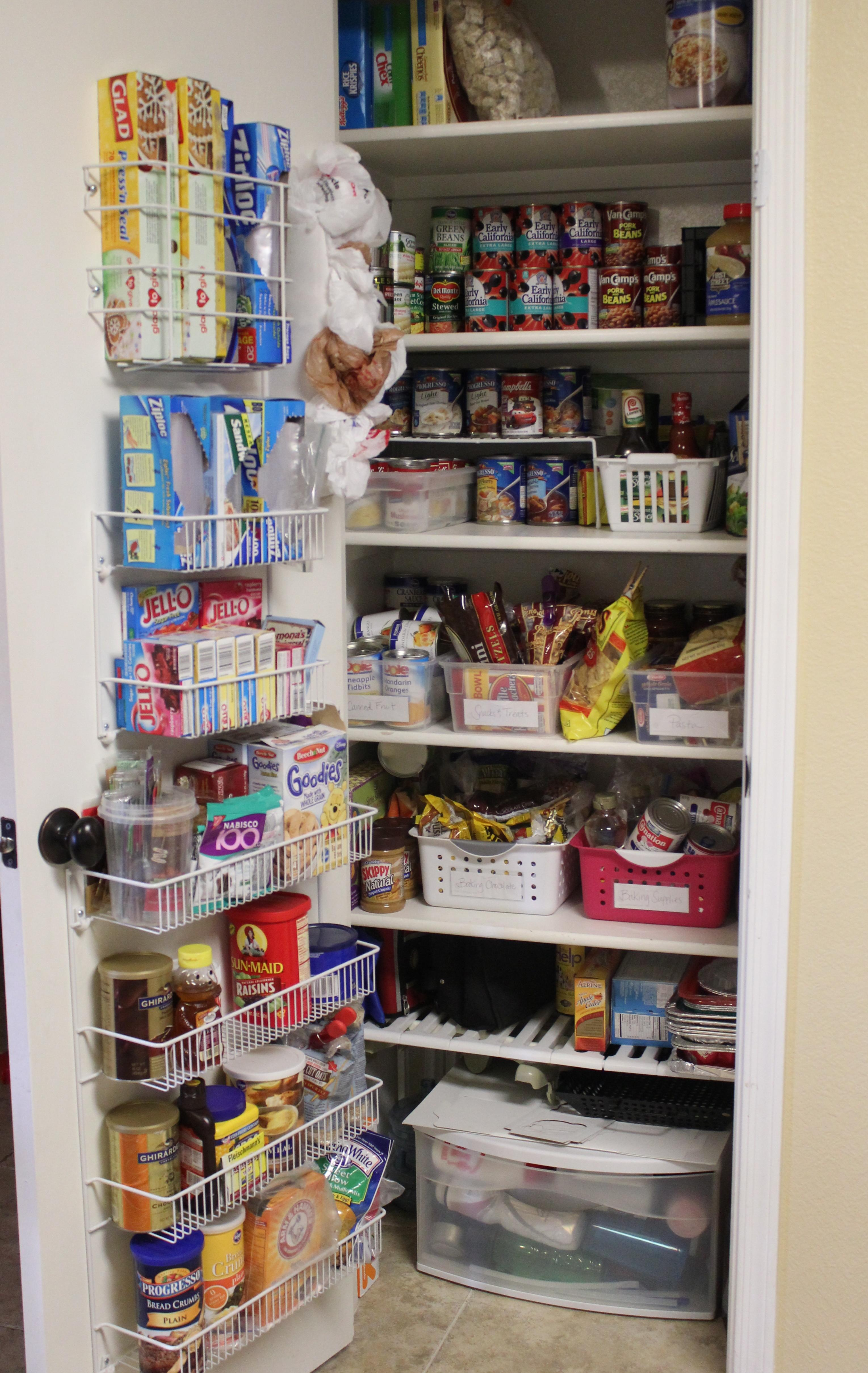 Pantry Organization Challenge Finale