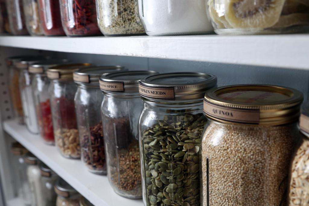 Pantry Organization Mason Jars Little House Pine
