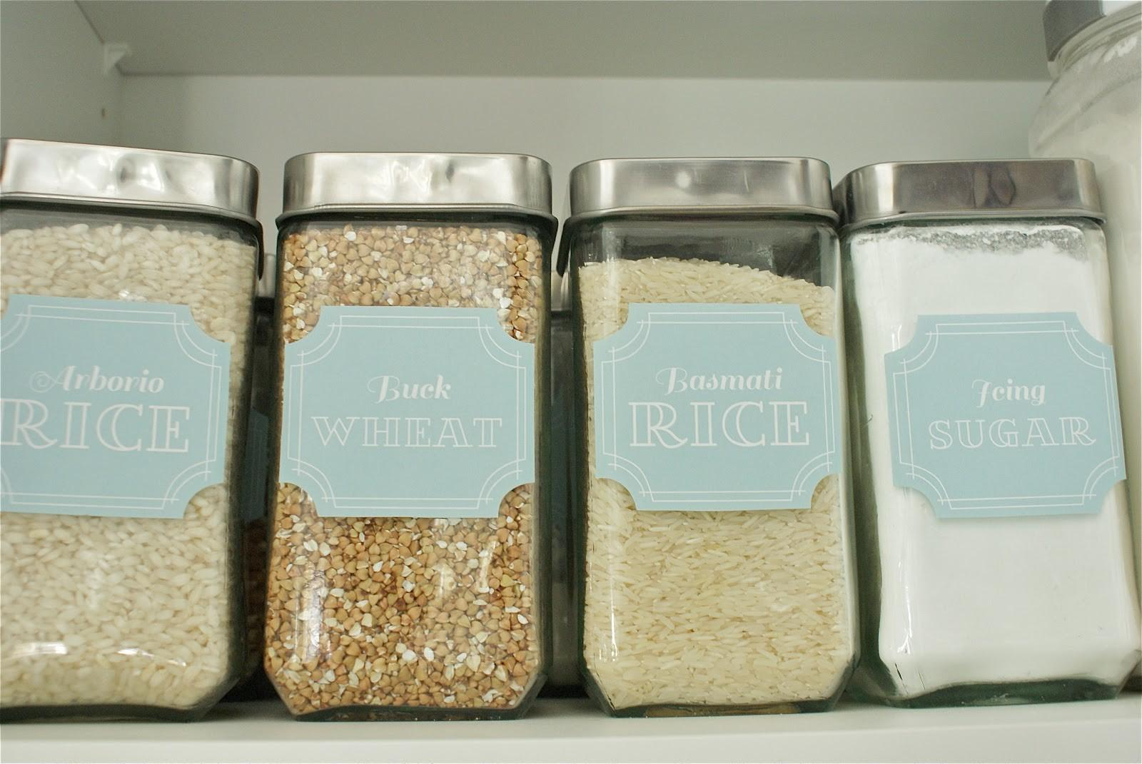 Pantry Pretty Dollar Store Makeover