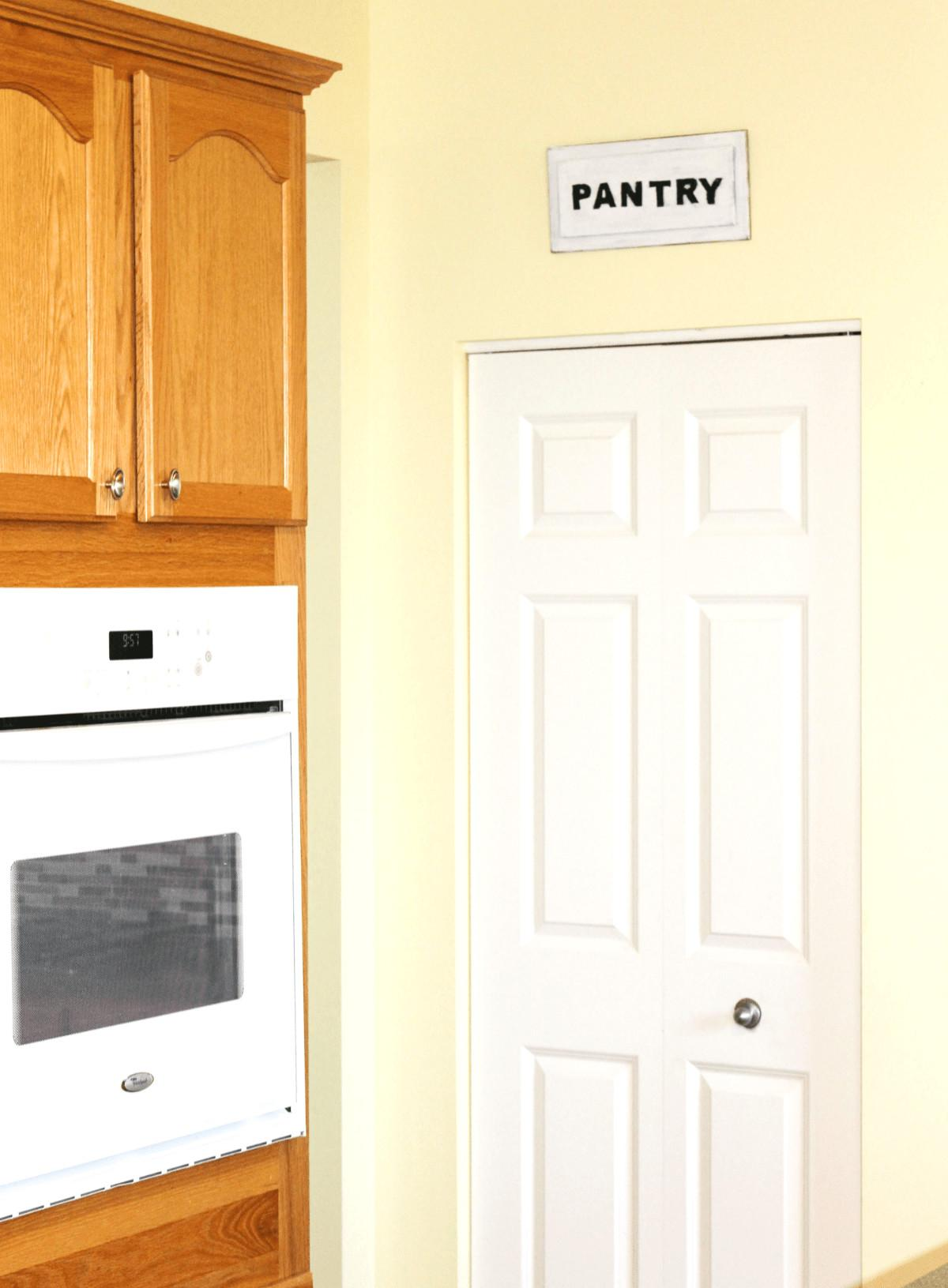 Pantry Sign Easy Home Zan