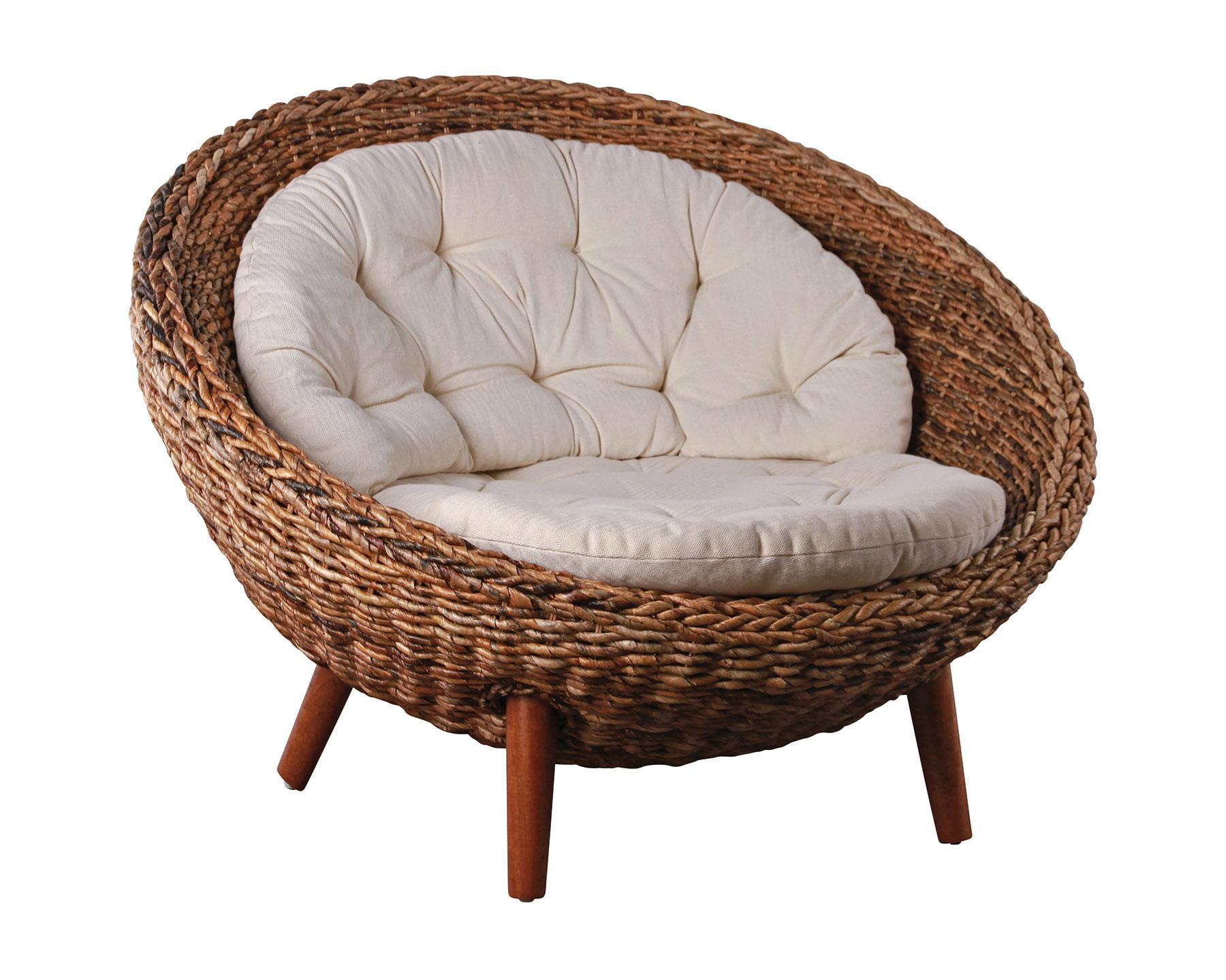 Papasan Chair Beachside Collective