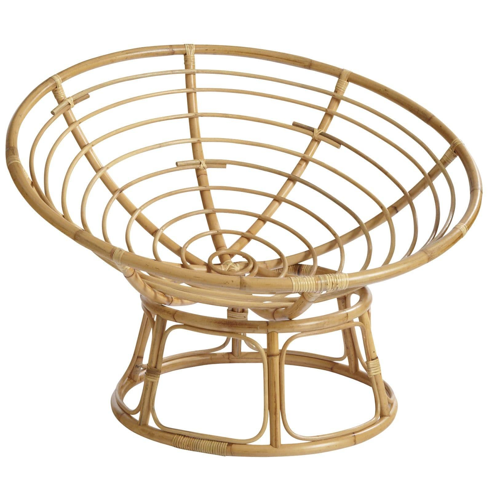 Papasan Natural Chair Frame Pier Imports