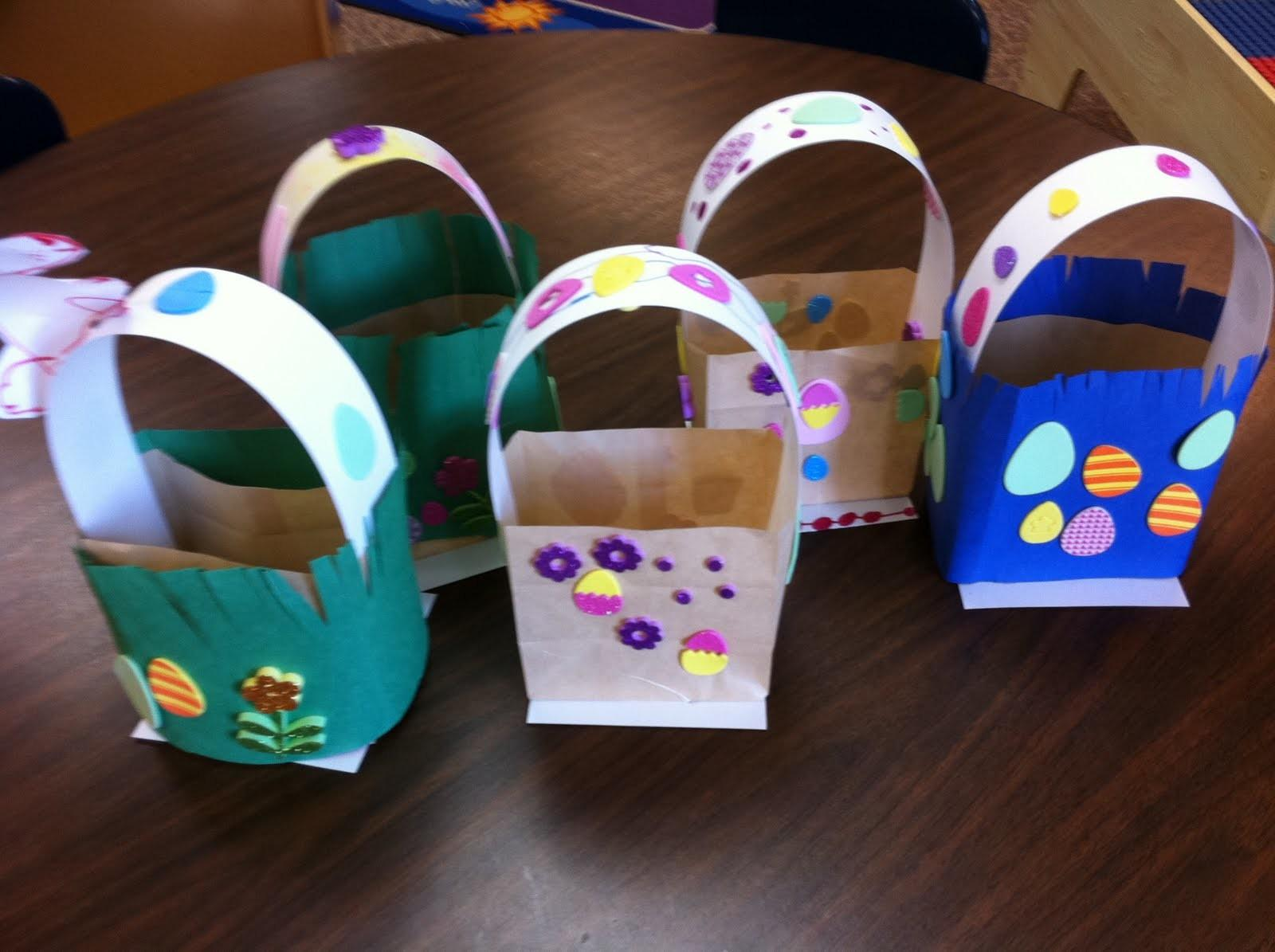 Paper Bag Easter Baskets Fairy Dust Teaching