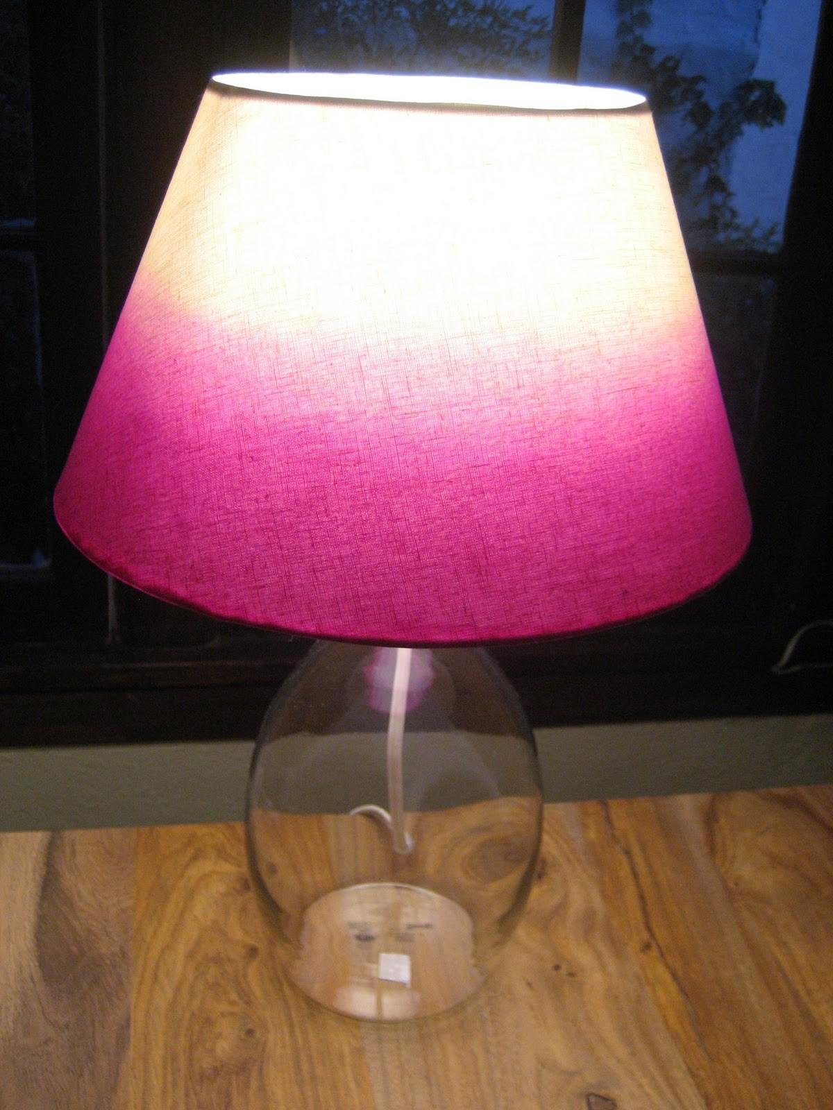 Paper Buttons Ombre Hair Dye Lampshade Diy