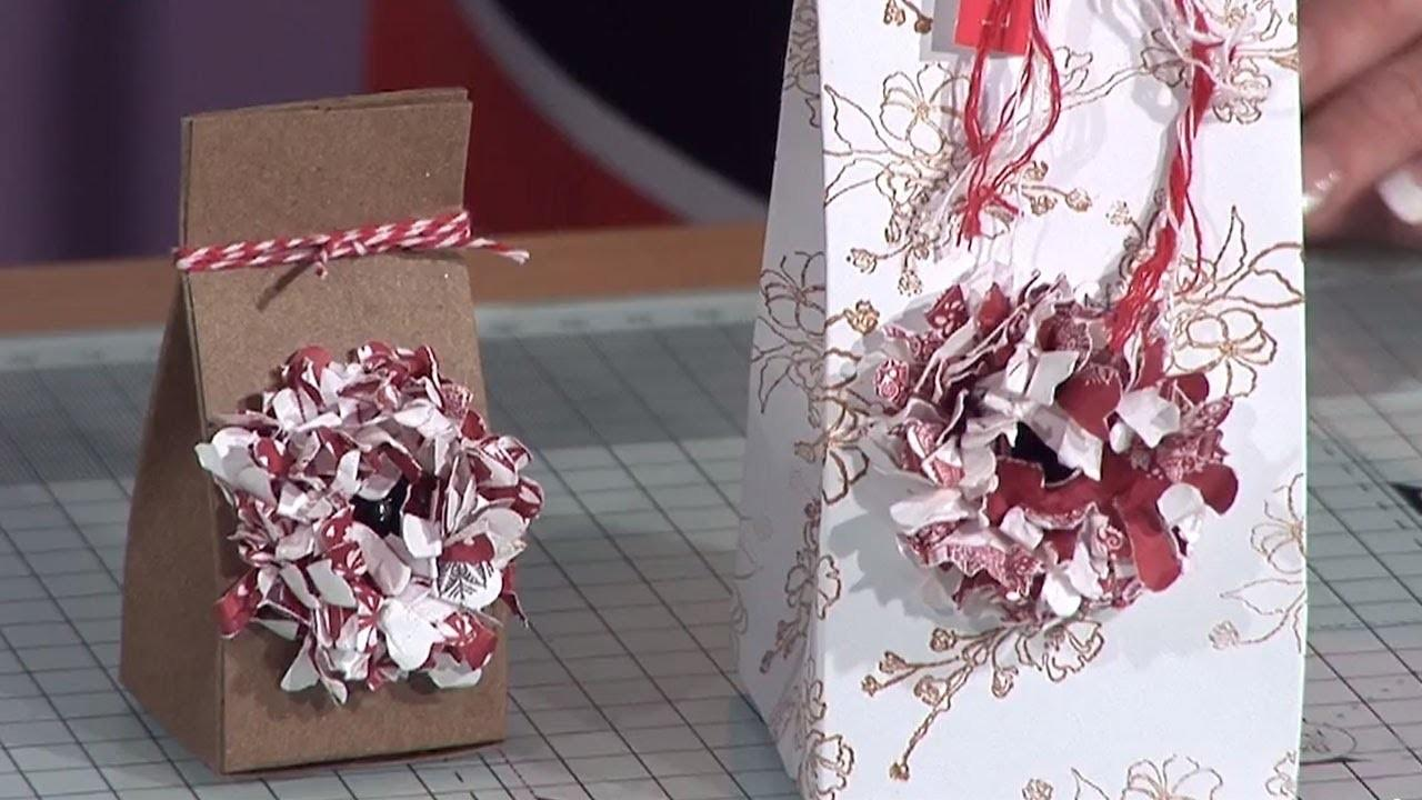 Paper Flower Gift Box Tutorial Docrafts Creativity