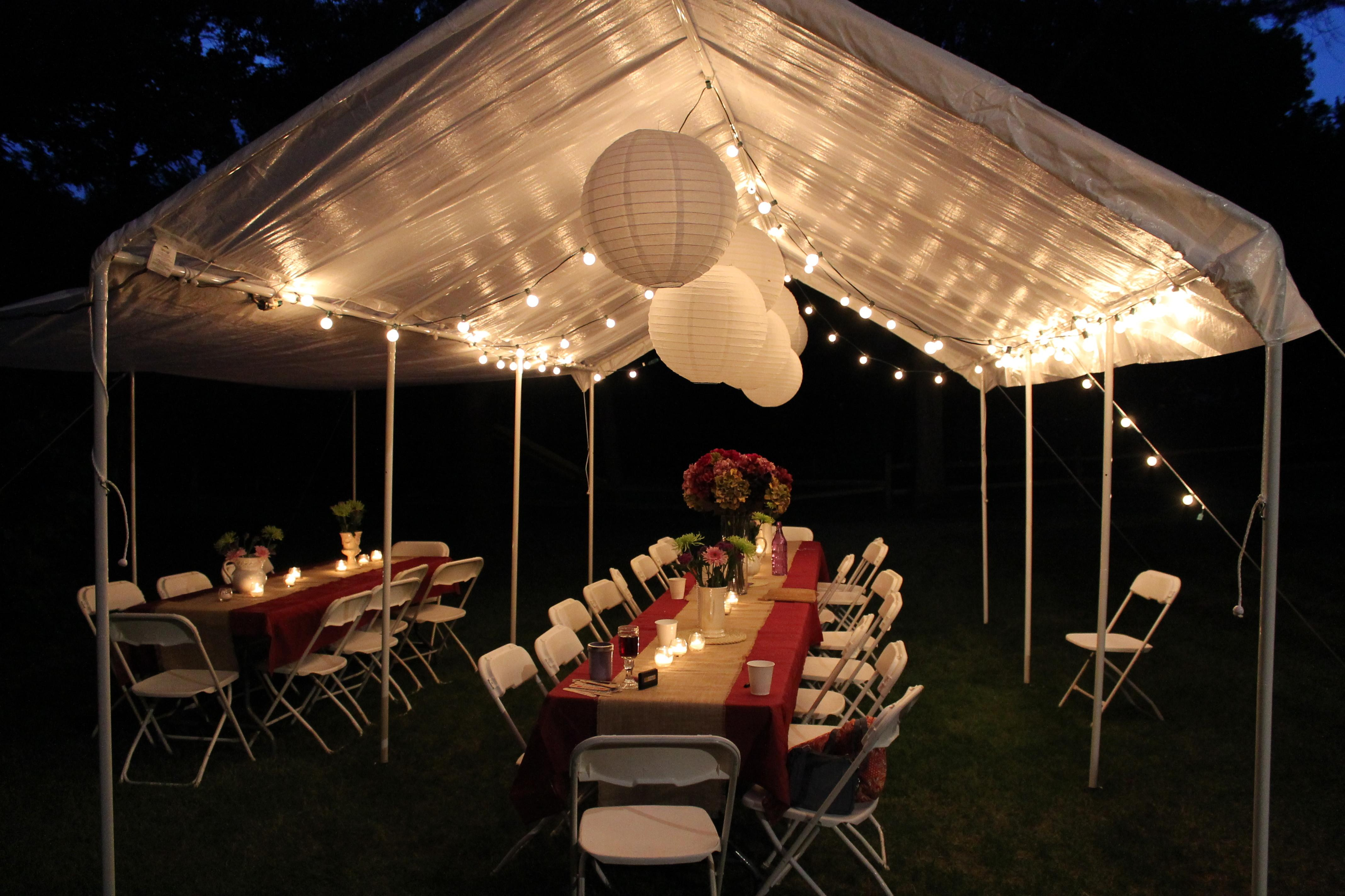 Paper Lantern String Lights Design Ideas Outdoor