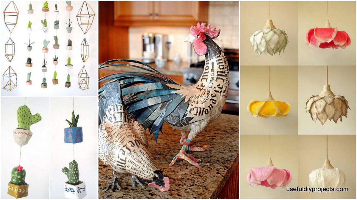 Paper Mache Ideas Can Decorate Your Home