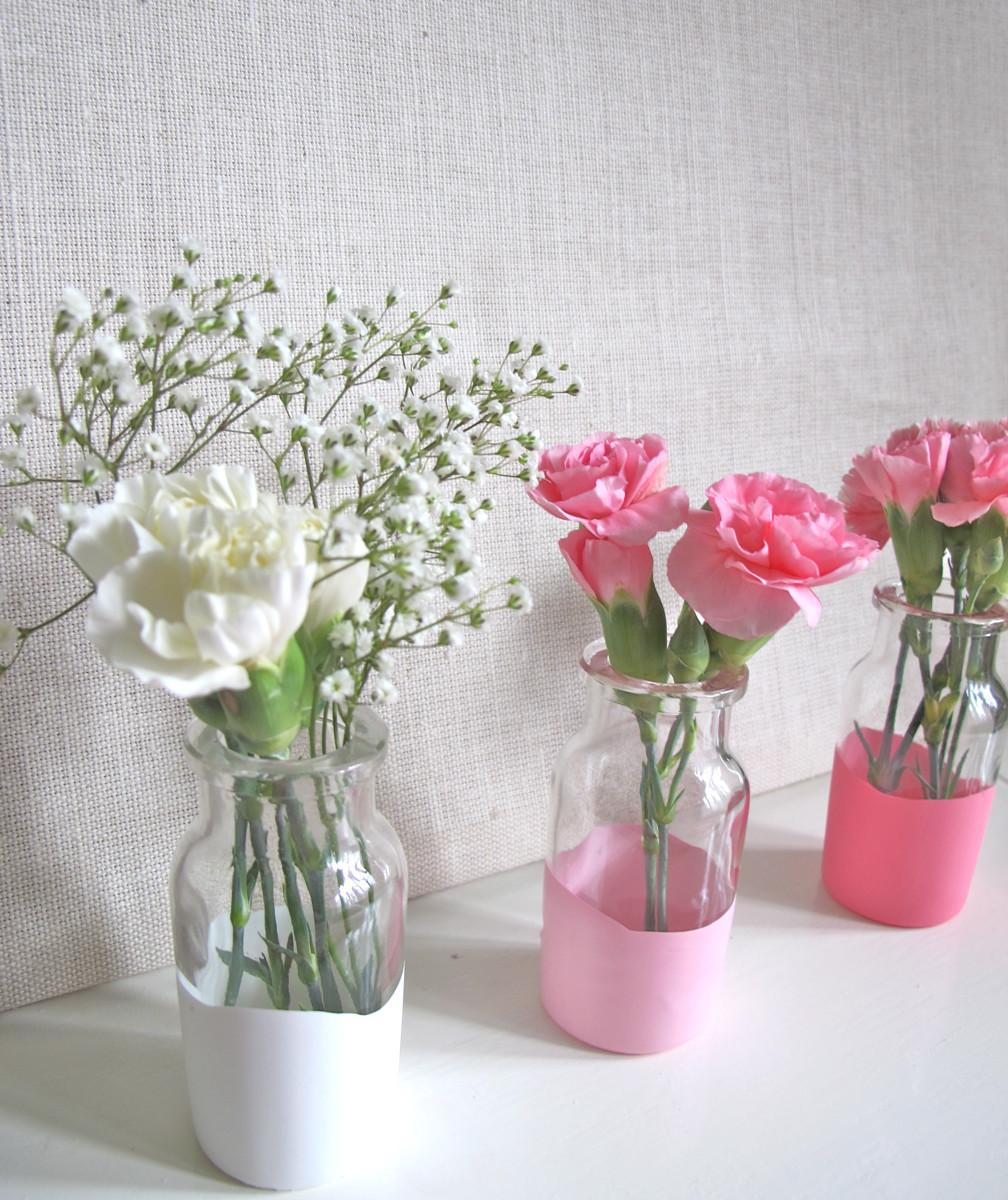 Paper Parade Easy Dipped Table Vases