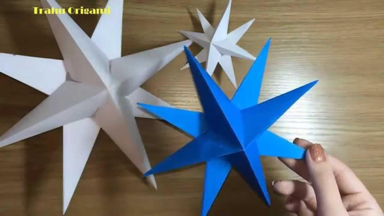 Paper Star Garland Origami Gifts Decoratorist 194928