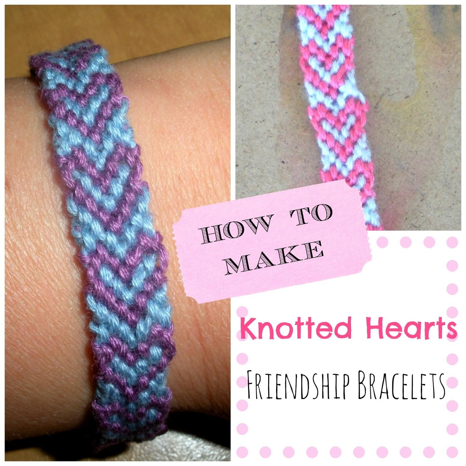 Paper Tape Pins Make Knotted Hearts Friendship