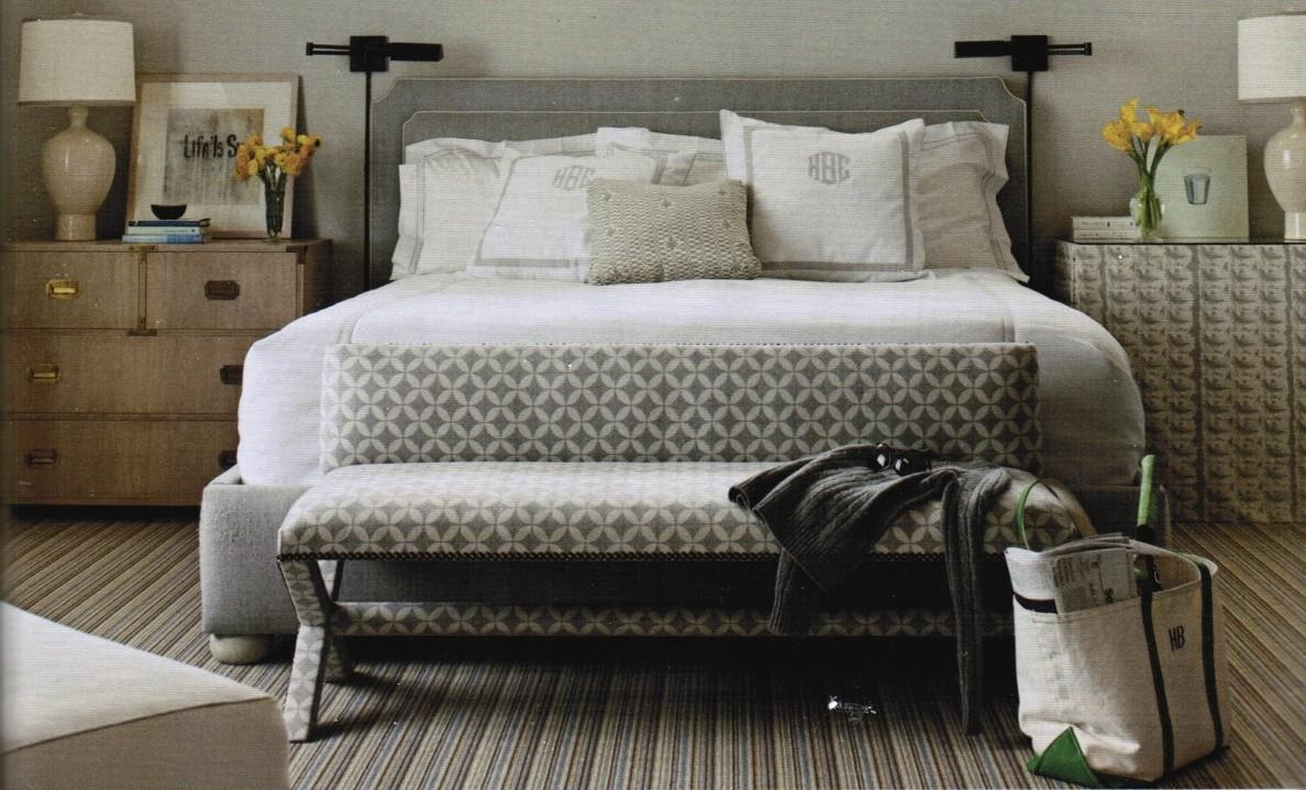 Paperwhite Mismatched Nightstands