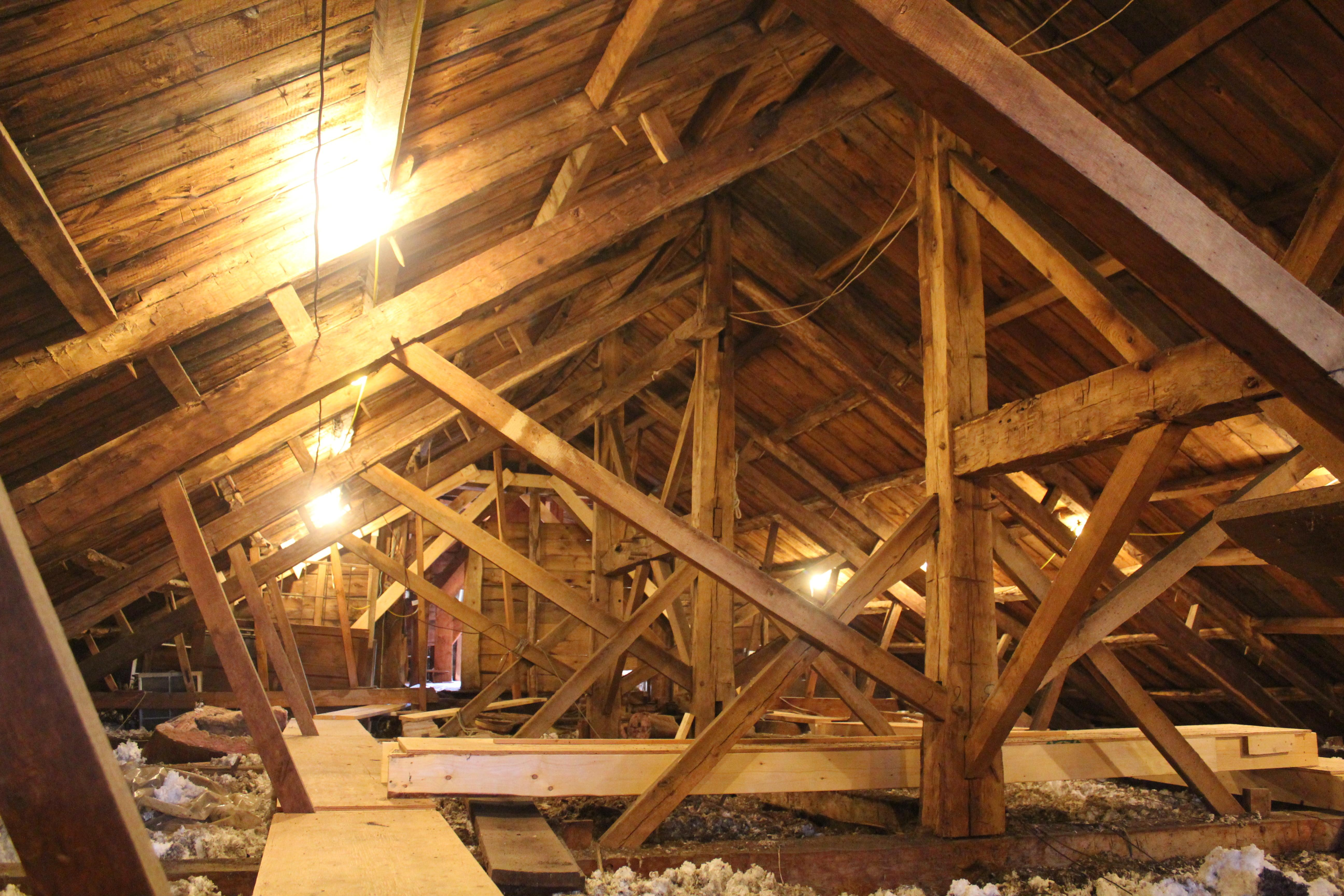 Parallel Rafter Chord Truss Preservation Timber Framing