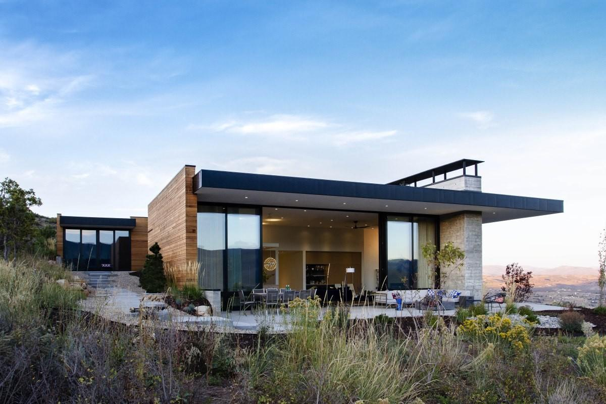 Park City Modern Residence Sparano Mooney Architecture
