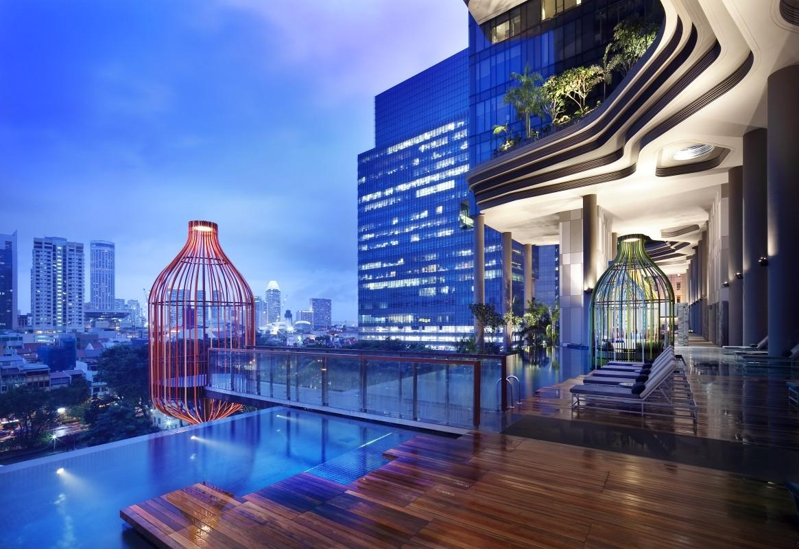 Parkroyal Pickering Hotel Singapore Woha