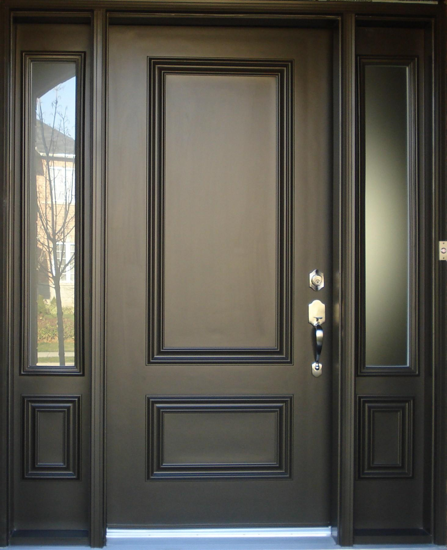 Particular Qualities Metal Doors Interior