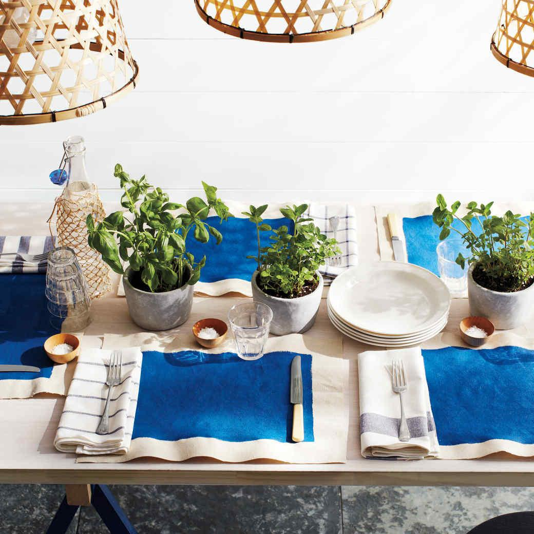 Party Colors Themes Martha Stewart