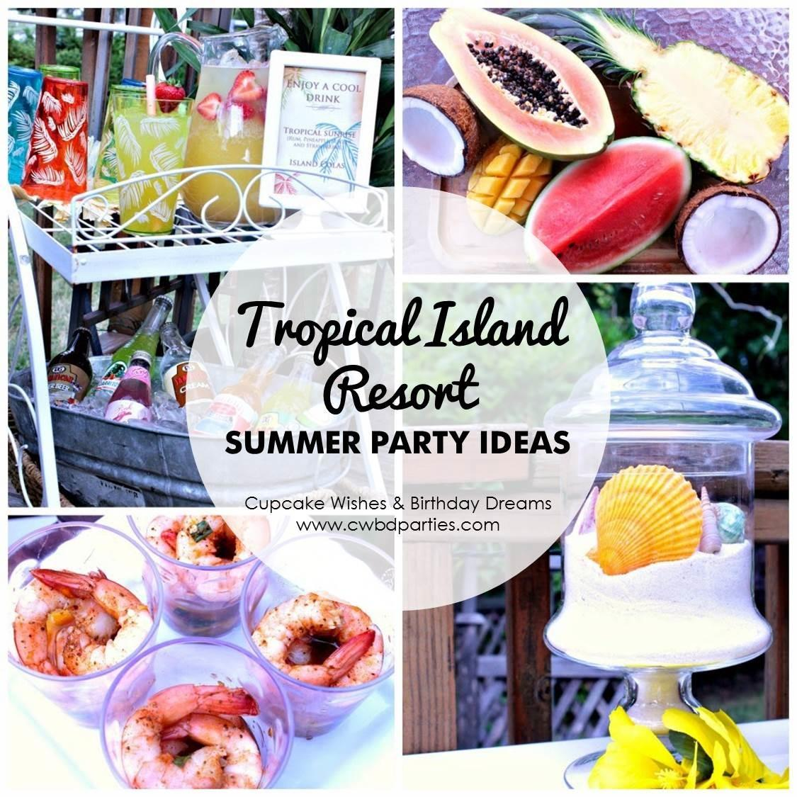Party Gals Linky Summer Ideas Lavish Events