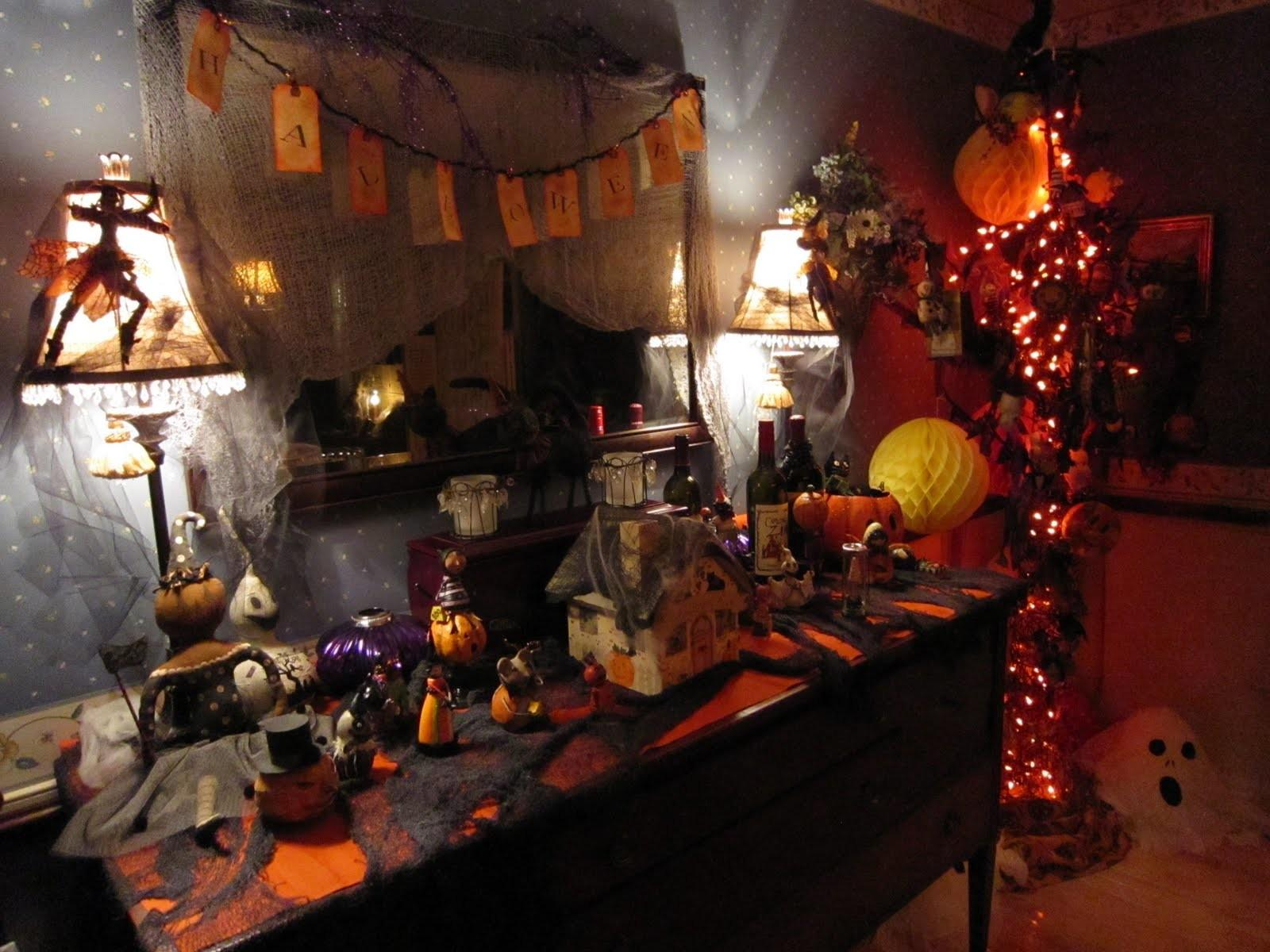 Party Halloween Decorations Ideas Magment Dinner Loversiq