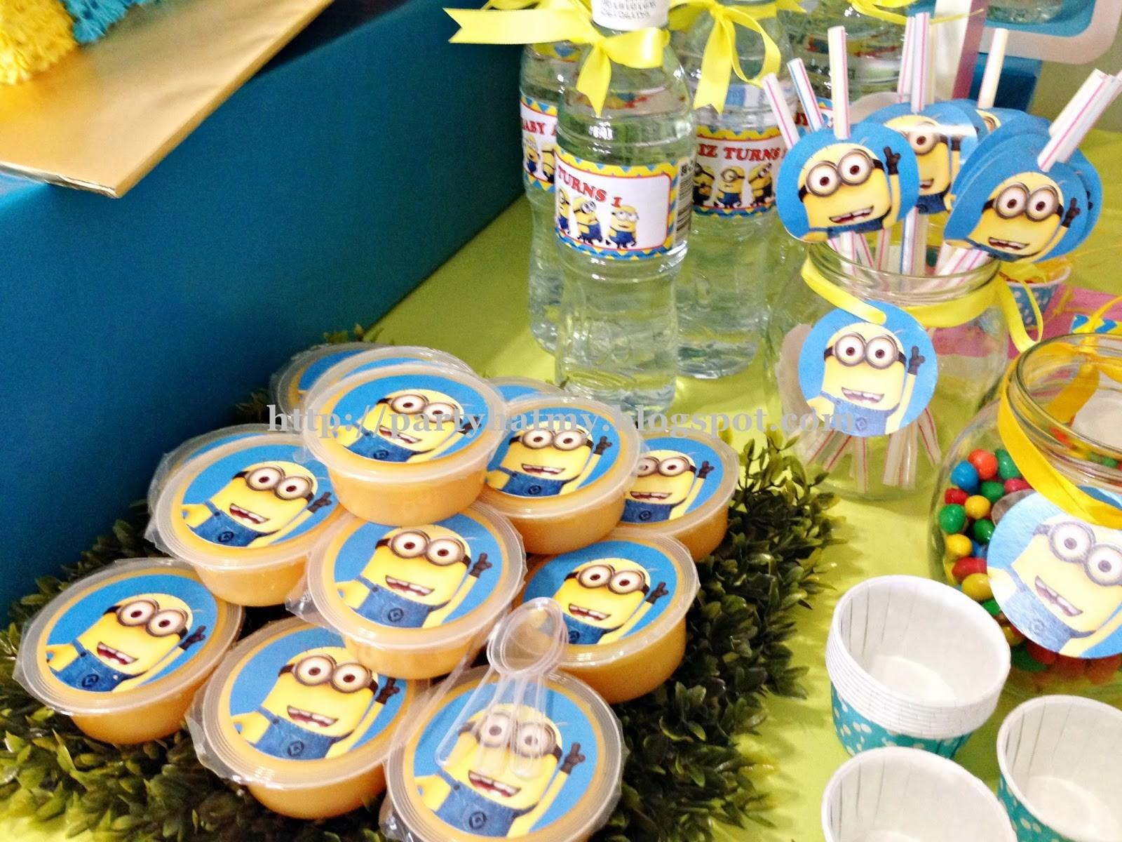Party Hat Minions 1st Birthday