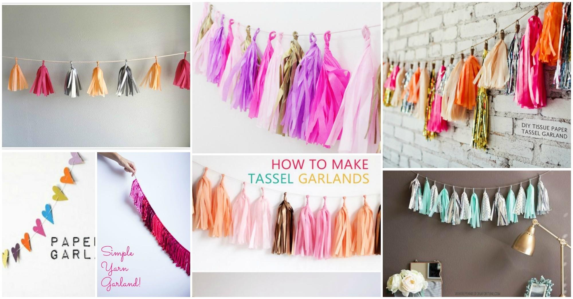 Party Mode Diy Garlands Collection