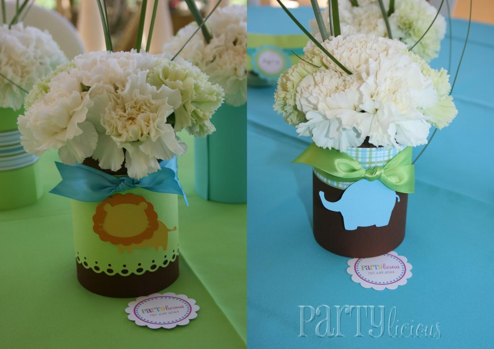 Partylicious Events Safari Baby Shower